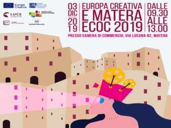"""Matera: 3 Dicembre 2019_Info day """"Europa Creativa e Matera ECoC 2019"""""""